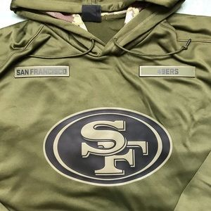 quite nice bddff 815aa Nike SF 49ers Salute to Service Hoodie NWT